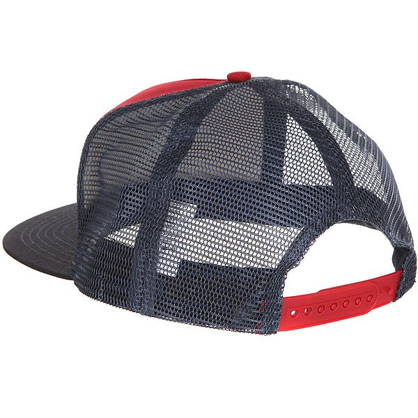 Бейсболка с сеткой Independent Weathered Cross Trucker Mesh Cardinal/Navy