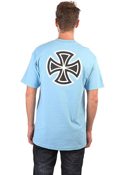 Футболка Independent Bar/Cross Carolina Blue