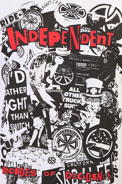 Футболка Independent Decades Of Decadence Regular White