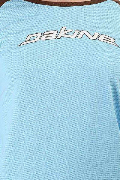 Лонгслив женский Dakine New Flo Rider Jersey Blue