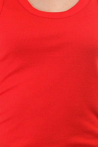 Майка женская Dakine Kama Rib Tank Hibiscus Red