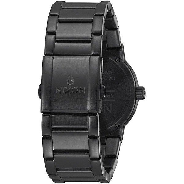 Кварцевые часы Nixon Cannon Black/Blue