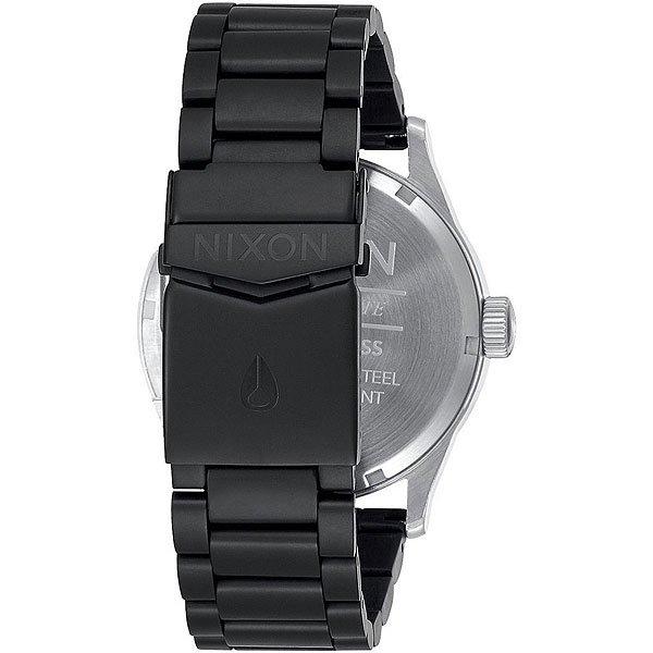 Кварцевые часы Nixon Sentry Black/Steel