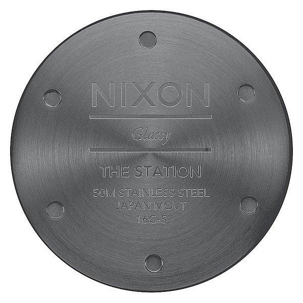 Кварцевые часы Nixon Station Gunmetal