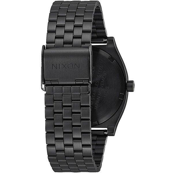 Кварцевые часы Nixon Time Teller Black/Blue
