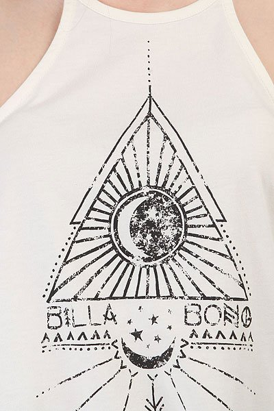 Майка женская Billabong Racer Back White