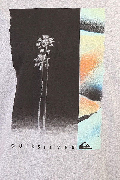 Футболка Quiksilver Ssclastemeridia Grey Heather