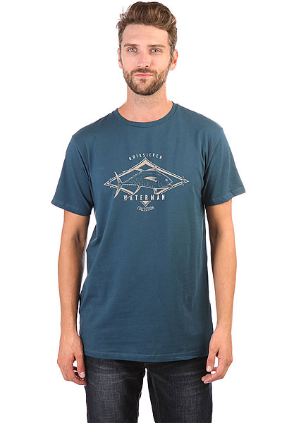 Футболка Quiksilver Highthon Major Blue