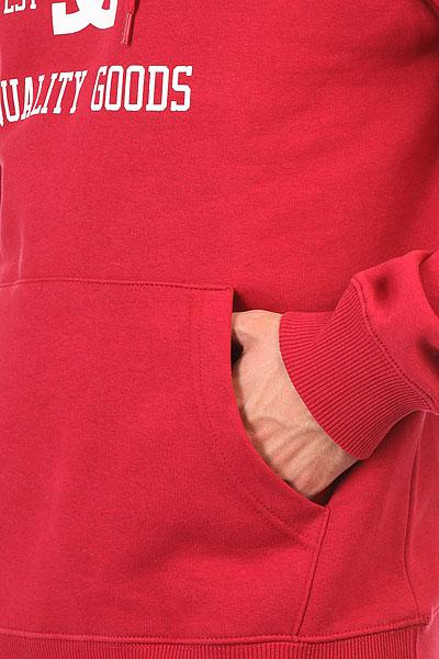 Толстовка кенгуру DC Headphase Rio Red