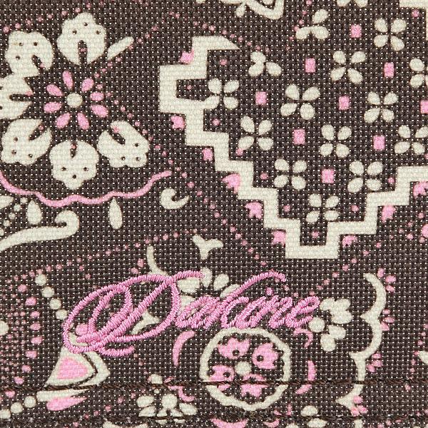 Кошелек женский Dakine Checkbook Brown/Pink