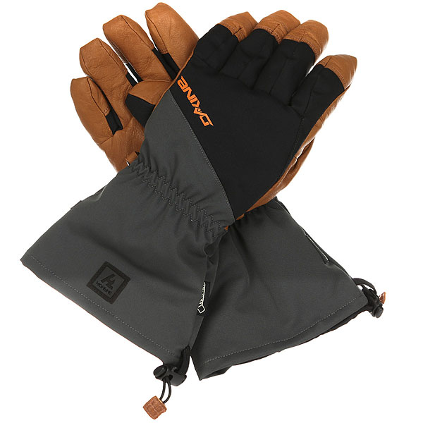 Перчатки Dakine Rover Glove Charcoal/Orange
