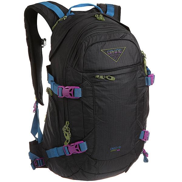 Рюкзак спортивный женский Dakine Pro Ii 26 L Black Ripstop