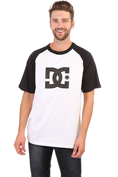 Футболка DC Star Raglan White