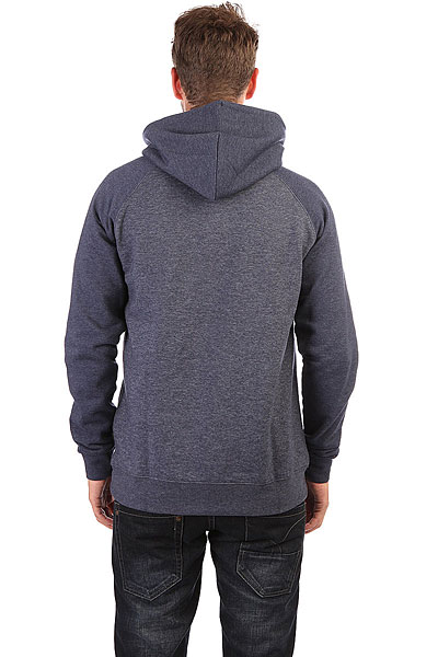 Толстовка кенгуру Quiksilver Everyday Hood Navy Blazer Heather