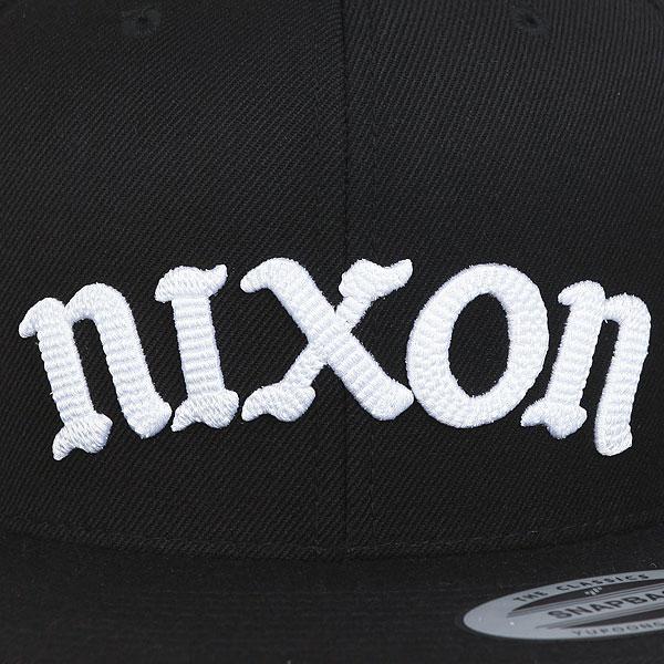 Бейсболка классическая Nixon Compton Starter Hat Black