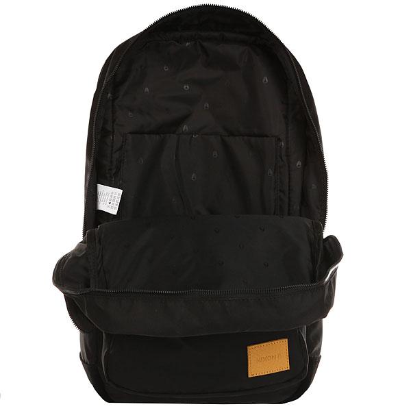 Рюкзак городской Nixon Range Backpack Black/Yellow
