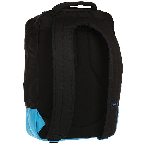 Рюкзак спортивный Nixon Del Mar Backpack Black/Blue