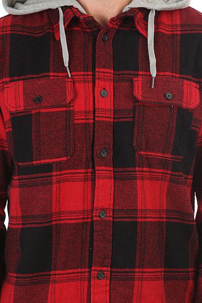 Рубашка в клетку DC Runnel Rio Red