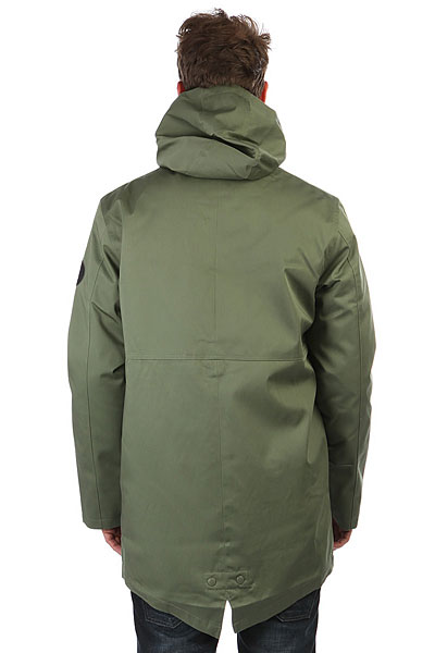 Куртка зимняя DC Ash Ville Vintage Green