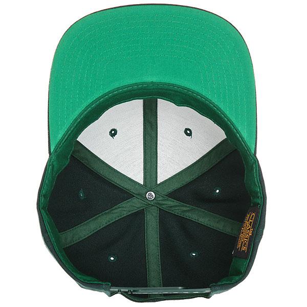Бейсболка с прямым козырьком Transfer Classic Snapback 6 Panel Spruce