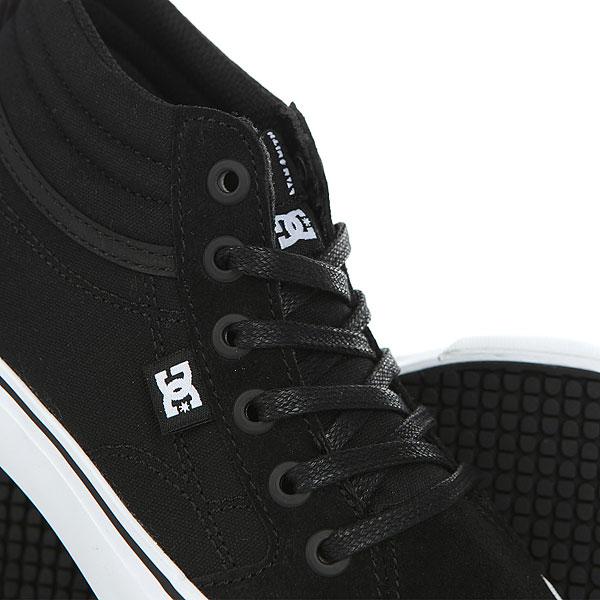 Кеды высокие детские DC Evan Hi Shoe Black/White