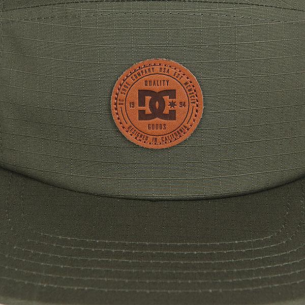 Бейсболка с прямым козырьком DC Cramper Camper Hats Vintage Green