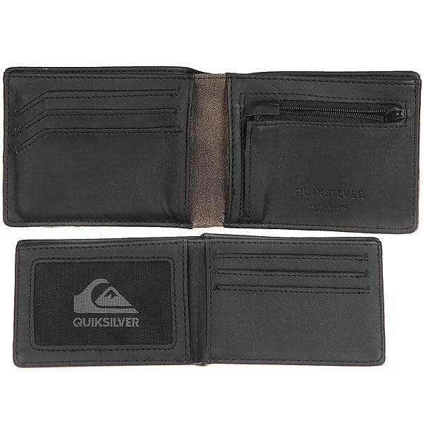Кошелек Quiksilver Newclassicalup Black