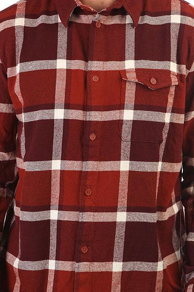 Рубашка в клетку DC Marsha Ls Burnt Henna