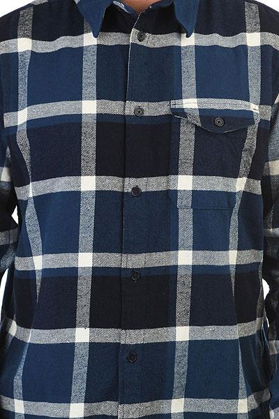 Рубашка в клетку DC Marsha Ls Washed Indigo
