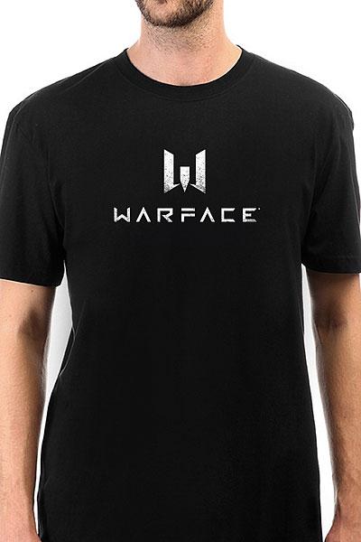 Футболка Классическая Warface Logo Черная