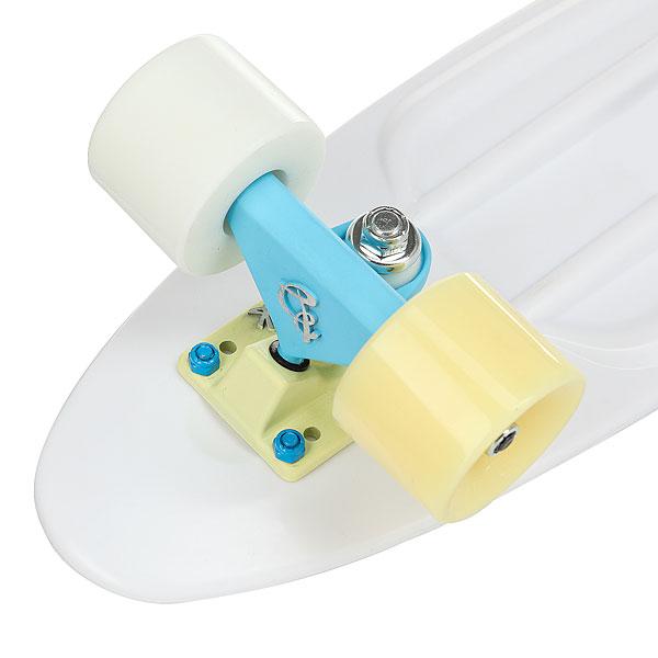 Скейт мини круизер Пластборды Dragee 6 X 22.5 (57 См) Multicolored White