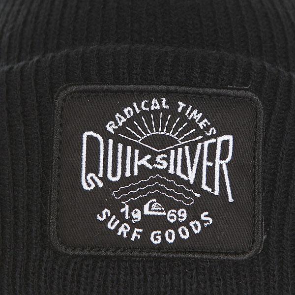 Шапка Quiksilver Performedpatch Black