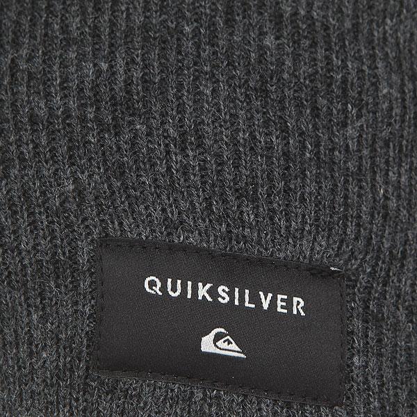 Шапка Quiksilver Cushyslouch Dark Charcoal Heather