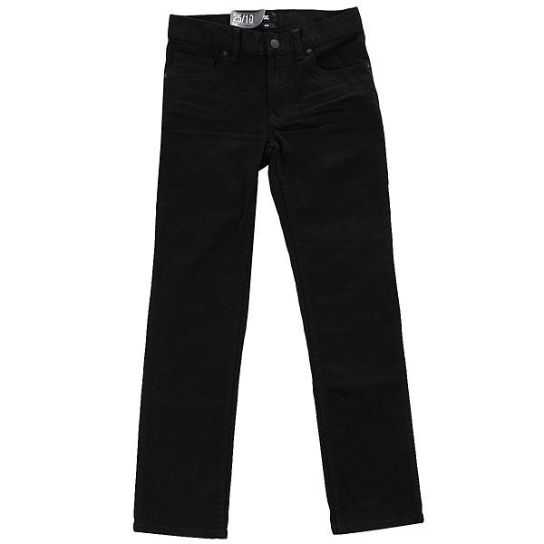 Узкие джинсы DC SHOES Worker Black Rinse Slim