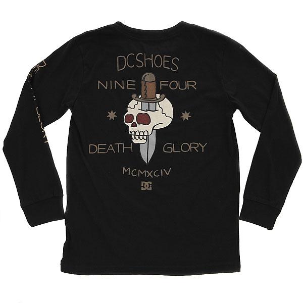 Лонгслив детский DC Death & Glory Black