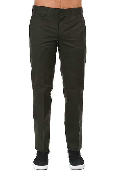 Штаны прямые Dickies Slim Straight Work Pant Olive Green