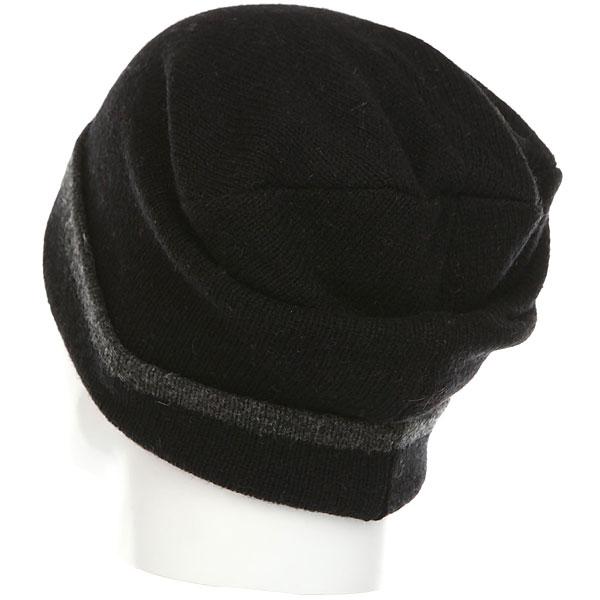 Шапка носок Herschel Frankfurt Black/Charcoal
