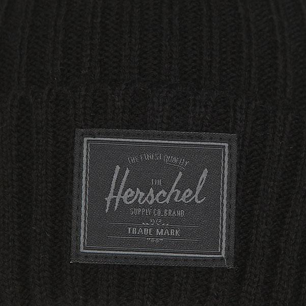 Шапка Herschel Morris Deep Black1