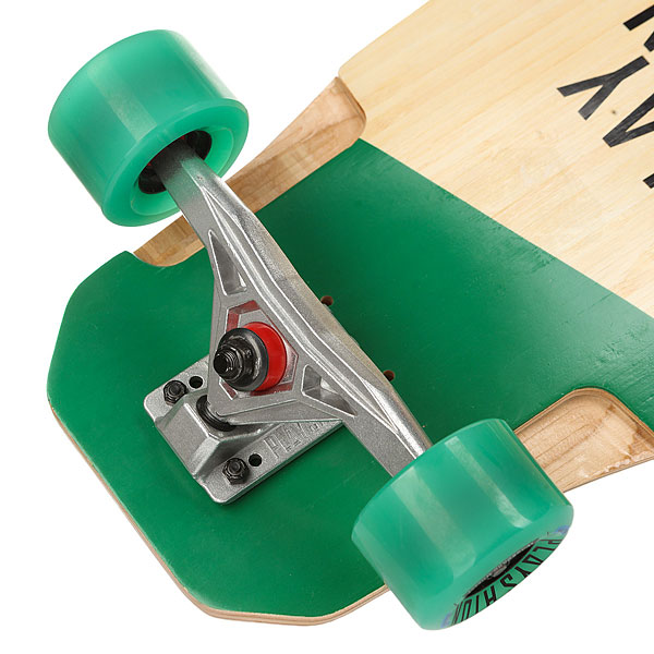 Лонгборд Playshion Pl-lon-021 Beige/Green/Black 9.5 X 37 (94 См)