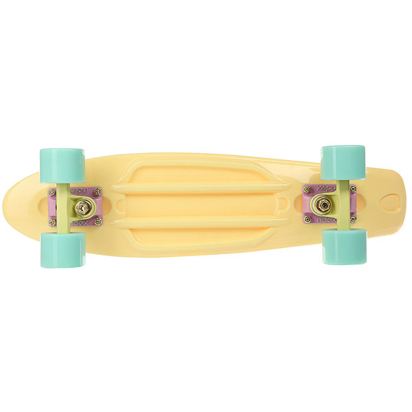 Скейт мини круизер Ridex Abec Seven Chrome Vanilla 6 X 22 (56 См)