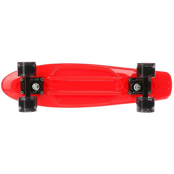 Скейт мини круизер Sulov Venice Красный 5.75 X 22 (55.9 СМ)
