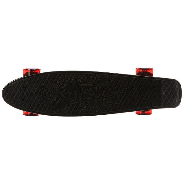 Скейт мини круизер Sulov Venice Черный 5.75 X 22 (55.9 СМ)