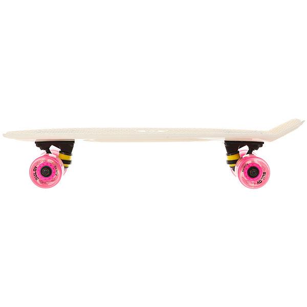 Скейт мини круизер меняющий цвет на солнце Sulov Sunshine Розовый 6 x 22.5 (57 см)