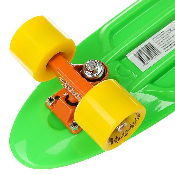 Скейт мини круизер Sulov Neon Салатовый 5.75 X 22 (55.9 См)