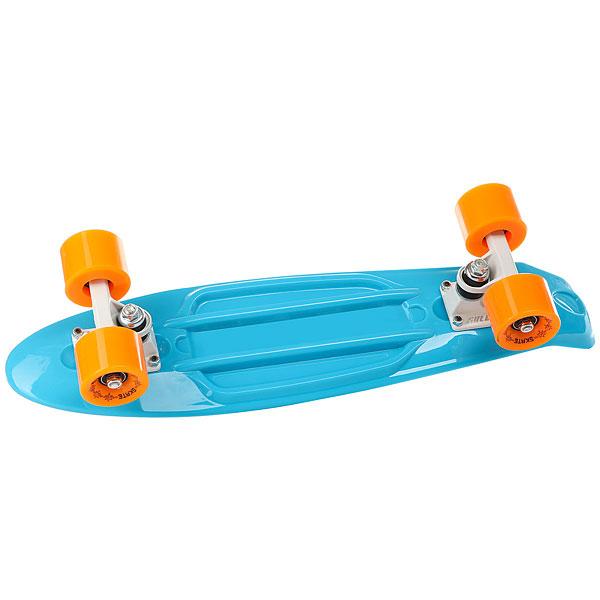 Скейт мини круизер Sulov Neon Синий 5.75 X 22 (55.9 СМ)