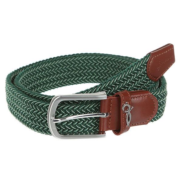 Ремень Запорожец Classic Elastic Belt Green/Beige