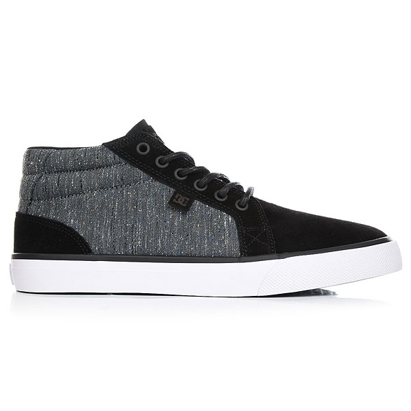 Кеды высокие DC Council Mid Black/Armor/White