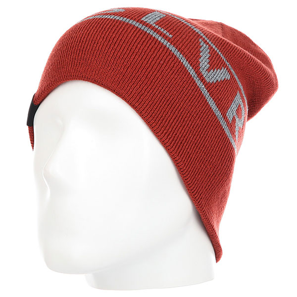 Шапка Quiksilver Knox Beanie Hats Ketchup Red