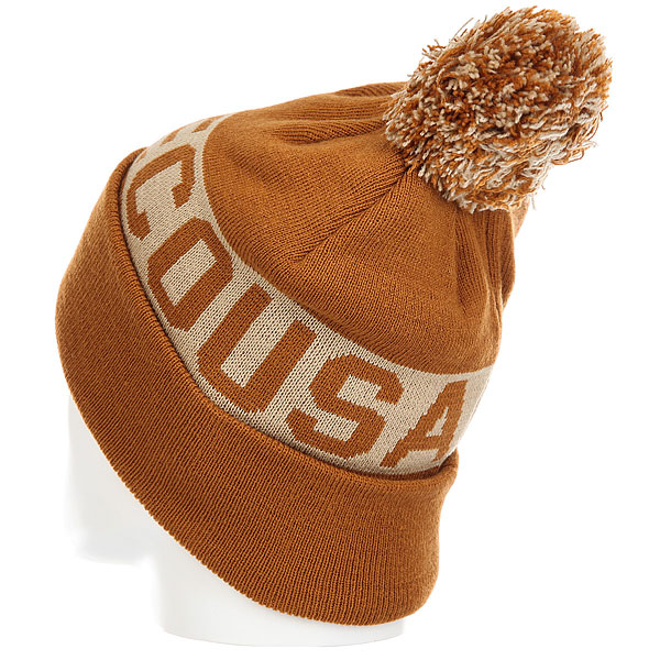 Шапка DC Chester Hats Leather Brown