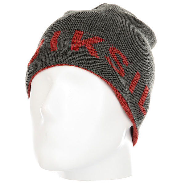 Шапка Quiksilver Slou Beanie Hats Ketchup Red